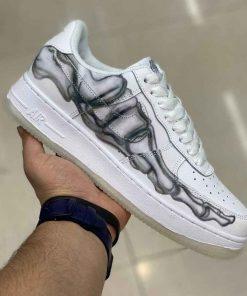 کفش نایک مردانه مدل AirForce 1 Skeleton